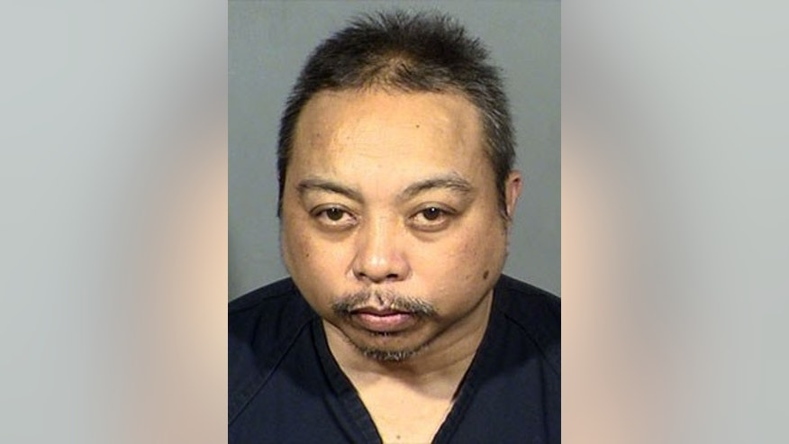Rolando Cardenas, 55, is accused of shooting and killing a man on a Las Vegas bus