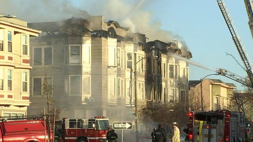 Oakland fire crews say they believe there was a fatality in the blaze.