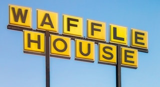 waffle house sign istock