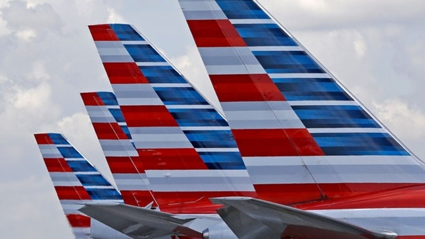 FILE: A co-pilot on an American Airlines plane died Wednesday while the plane was preparing for landing