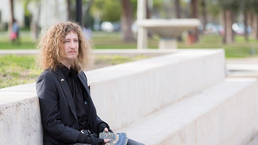 "Pierce College student, Kevin Shaw, 27, filed a lawsuit against the Los Angeles Community College District after he was barred from passing out copies of the document because he wasn't in the designated ""free speech zone"" on campus."