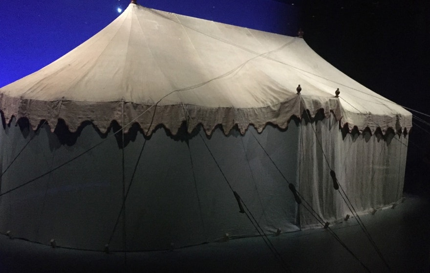 george washington tent