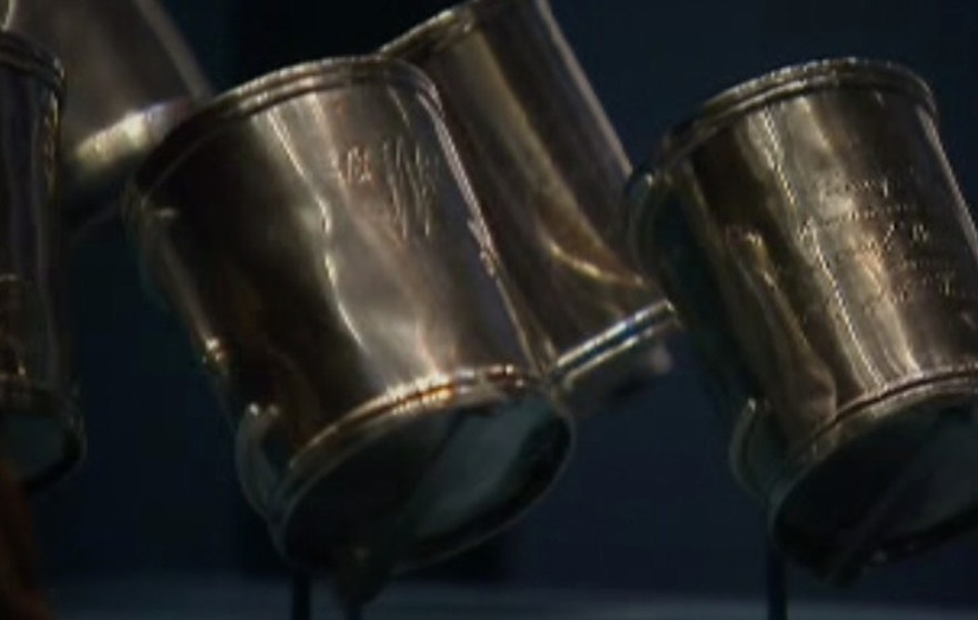silver cuffs revolutionary war