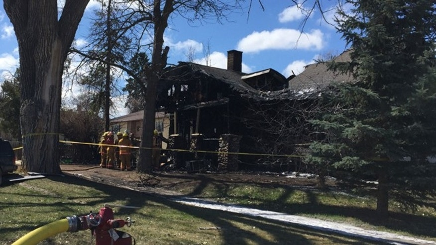 Firefighters investigated Saturday after a fire in Spearfish, S.D., killed five children.