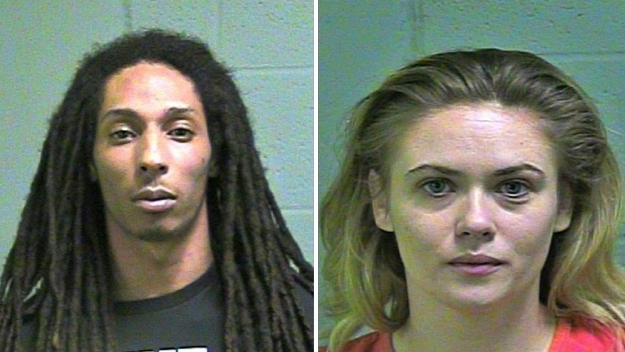 Lawrence Moore and Micah Madison Parker were arrested March 30 in connection to prostitution in Oklahoma City.