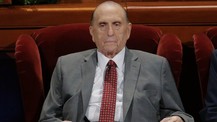 Thomas S. Monson Hospitalized