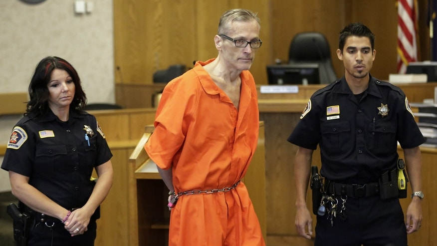This Sept. 19, 2014, file photo, Martin Joseph MacNeill enters the courtroom before his sentencing, in Provo, Utah.