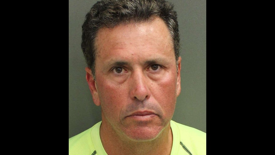 Gustavo Falcon, 55, and his wife Amelia were arrested at an intersection in Kissimmee after coming back from a long bike ride.
