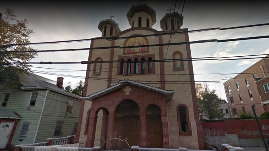 St. Mary's Romanian Orthodox Church is one of the four places of worship Joseph Woznick is accused of burglarizing.