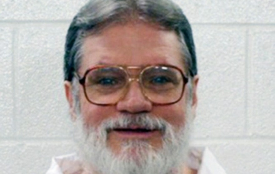 This undated file photo provided by the Arkansas Department of Correction shows Bruce Earl Ward, who has been scheduled for execution April 17, 2017. The Arkansas Supreme Court has halted the execution of Ward, one of two inmates facing lethal injection Monday under the state's multiple execution plan. Justices on Friday, April, April 14,2017, issued a stay in the execution of Bruce Ward, one of seven inmates the state plans to put to death before the end of the month. (Arkansas Department of Correction, via AP File)