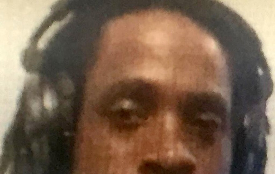 "This undated photo provided by the Fresno Police Department shows Kori Ali Muhammad, 39, who was arrested shortly after a shooting rampage outside a Catholic Charities building, in Fresno, Calif, on Tuesday, April 18, 2017. Muhammad is believed to have shot and killed three people on the streets of downtown Fresno on Tuesday, shouting ""God is great"" in Arabic during at least one of the slayings and later telling police that he hates white people, authorities said. (Fresno Police Department via AP)"