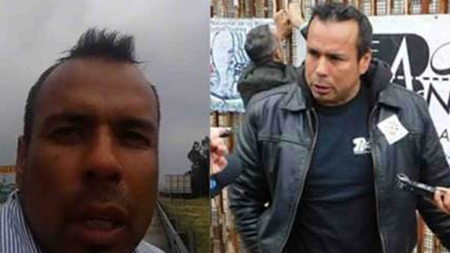 Border Angels has put out a missing poster reads showing Hugo Castro's most recent pictures.