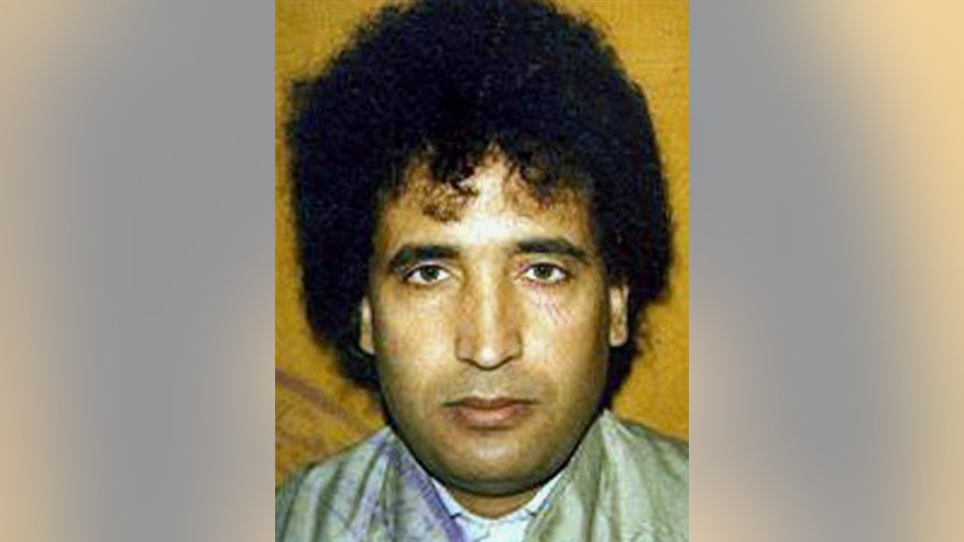 Abdel Baset al-Megrahi in an undated file photo.