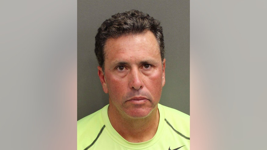 "FILE - This undated file photo provided by Orange County Corrections shows Gustavo Falcon, the last of South Florida's ""Cocaine Cowboys"". Falcon was arrested Wednesday, April 12, 2017, some 26 years after he went on the lam, while on a 40-mile bike ride with his wife near the Orlando suburb where they apparently lived under assumed names. Falcon makes his first court appearance in Miami, Tuesday, April 25, 2017. (Orange County Corrections via AP, File)"