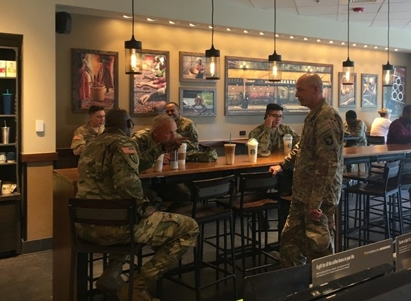 Starbucks unveils 'Military Family Stores,' serving up jobs to American vets (foxnews.com)