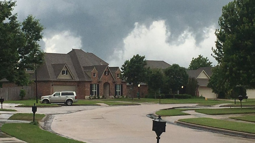 Owasso Tornado Storm Damages Homes Downs Power Lines In