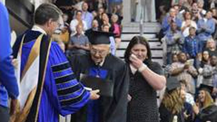 Horace Sheffield has graduated college at 88-years-old.