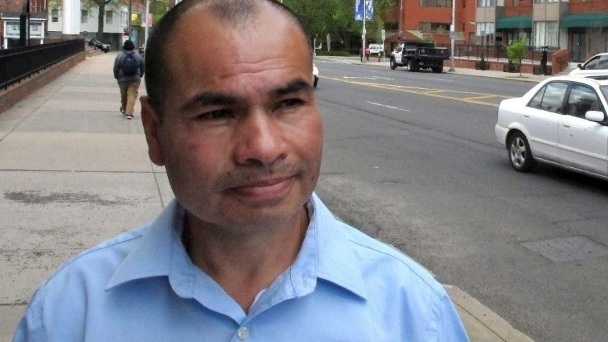 Luis Barrios, an immigrant facing deportation to Guatemala, has been granted a two-year stay of deportation, according to Connecticut U.S. Sen. Richard Blumenthal. Barrios is seen in a file photo.