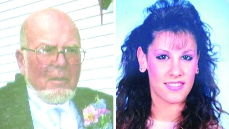 Police said Eugene Palmer, left, shot and killed his daughter-in-law, Tammy Palmer, right, before fleeing into Harriman State Park.