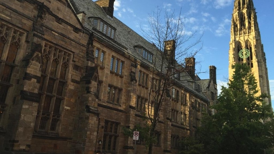 Yale University may be under siege on Monday by activists protesting commencement ceremonies.