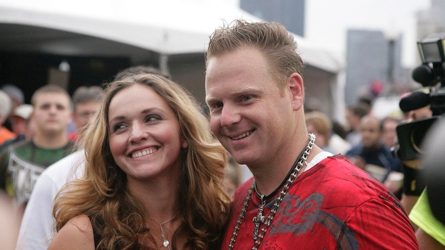 Trapeze artist Nik Wallenda's wife, Erendira Vasquez Wallenda, is planning on performing a stunt over Niagara Falls. She plans on dangling by her teeth from a helicopter as it flies over the falls.