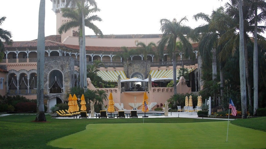 FILE - In this April 15, 2017 file photo, President Donald Trump's Mar-a-Lago estate in Palm Beach, Fla. (AP Photo/Alex Brandon, File)