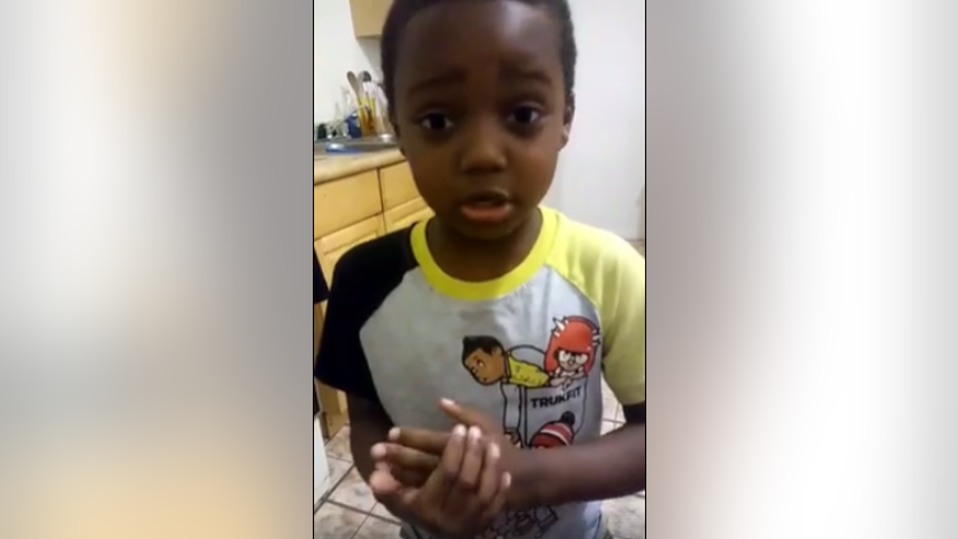 "Jeffrey Laney, 6, begs people in St. Louis to ""stop killing each other."""