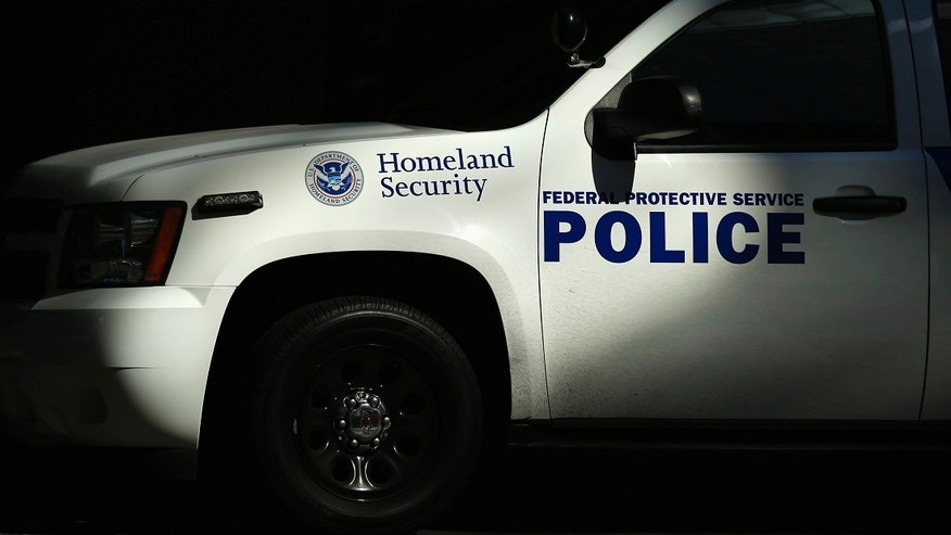 "A Homeland Security Vehicle is pictured in this file photo. The current United States terror alert system, known as the National Terrorism Advisory System (NTAS), issues their warnings as ""alerts"" and ""bulletins."""