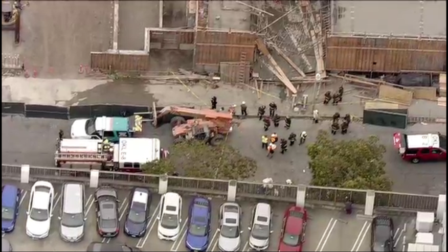 A building in Oakland partially collapsed on Friday, May 26, 2017, injuring at least 19 workers.