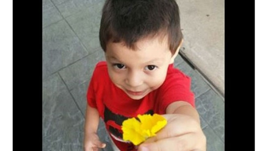 Texas firefighters said Ezra wandered away from his family's campsite in San Houston National Forest Saturday.