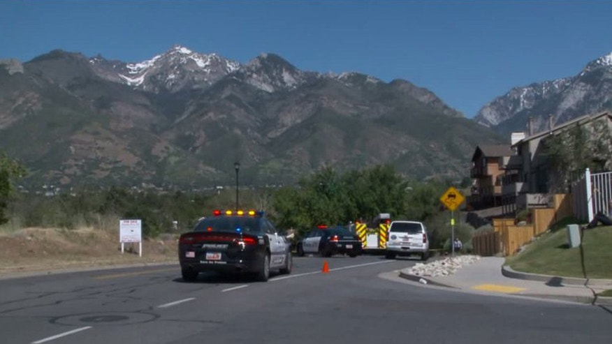 Three people were killed and two others were injured in a shooting near an elementary school outside of Salt Lake City Tuesday afternoon, police said.