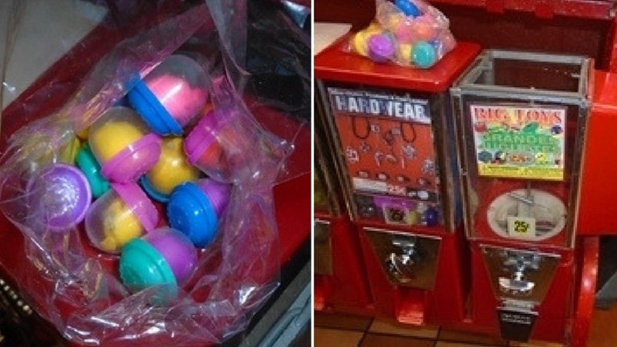 Police In Bell Gardens Discovered Cocaine Hidden In Vending Machine Toys On  Monday After A Boyu0027s