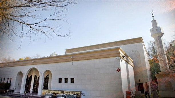 The Dar Al Hijrah Islamic Center is seen in Falls Church, Va., Sunday, Nov. 8, 2009. (AP Photo/Jose Luis Magana)