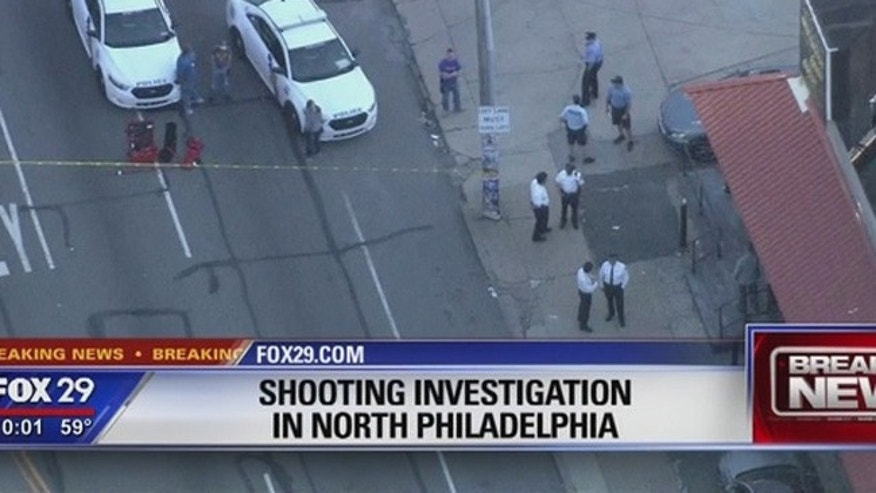 police shooting philly