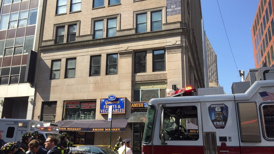 Several injured after fire breaks out in Tribeca basement