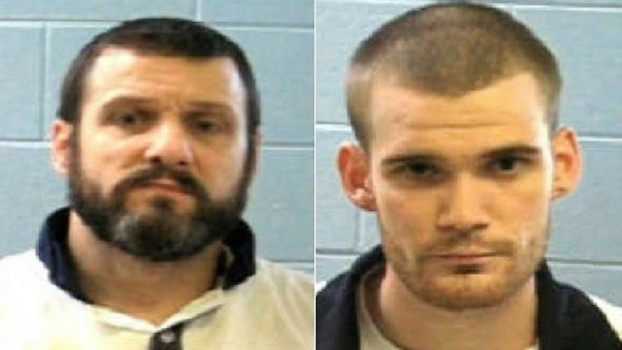 Georgia Department of Corrections tweeted a photo of the two inmates, Donnie Russell Rowe, 43, and Ricky Dubose, 24, who are being sought by law enforcement after two prison guards were killed in Putnam County on Tuesday, June 13, 2017.