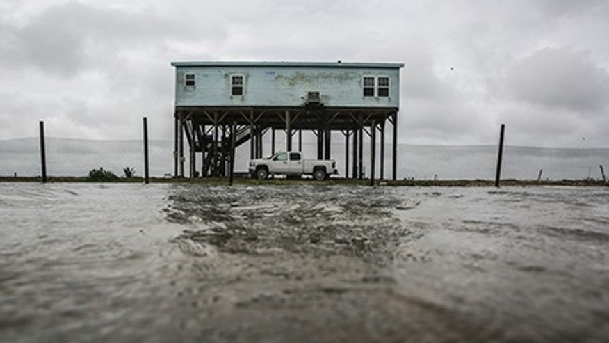 Tropical Storm Cindy touched down earlier on the Bolivar Peninsula, Texas, on Thursday, June 22, 2017.