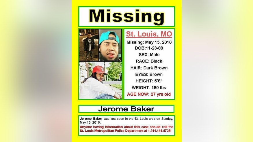 Police have reclassified the circumstances surrounding Jerome Baker from a missing persons case to a homicide.