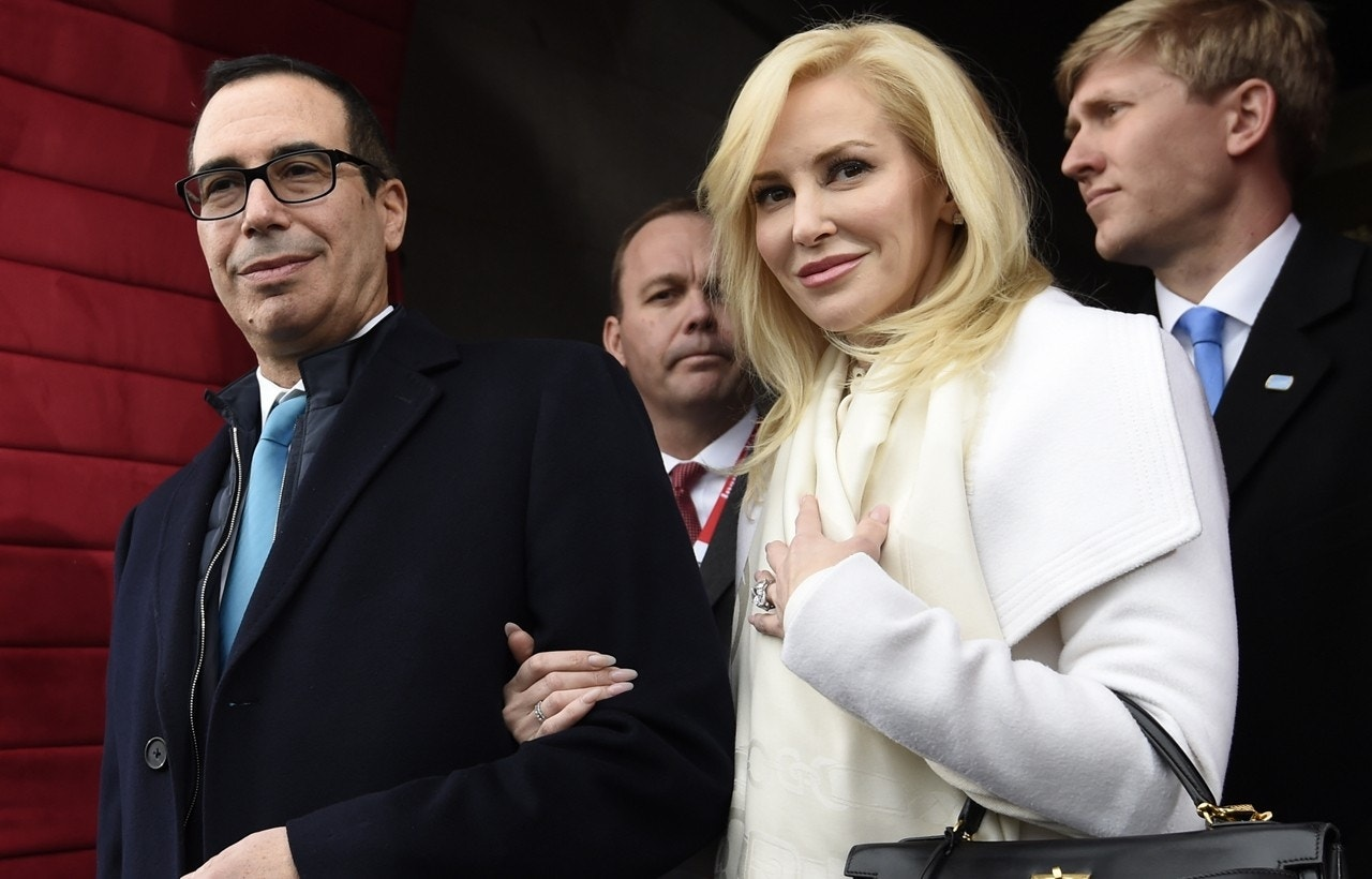 Treasury Secretary Steven Mnuchin weds Scottish actress in discreet wedding
