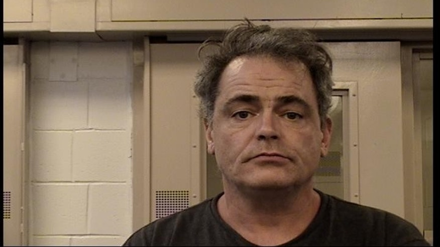 Robert Generosa, 49, is accused of stabbing and threatening his parents over the lack of air conditioning in their Albuquerque home last Thursday. (Bernalillo County Detention Center)