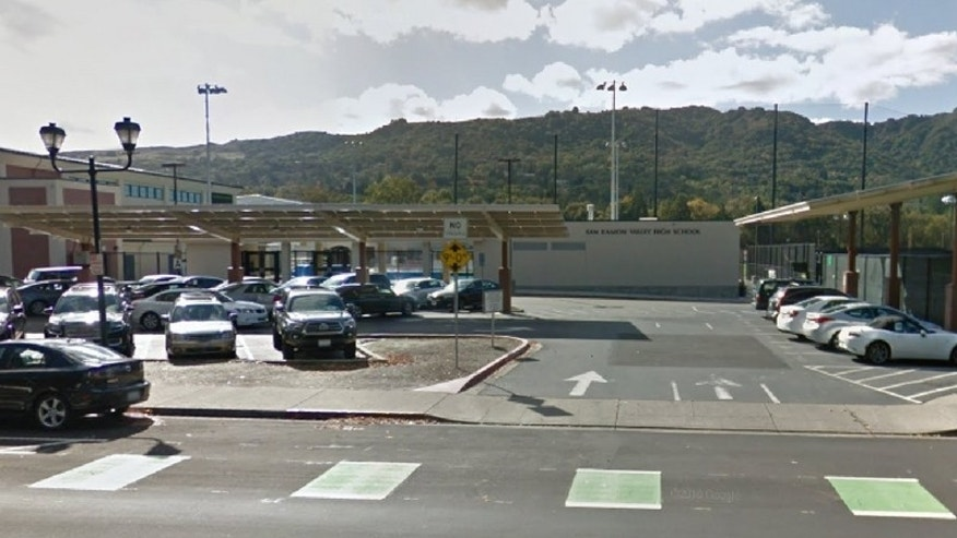 The student at San Ramon High in Danville, Calif., allegedly suffered major repercussions after his controversial campaign video sparked outrage. (Google Maps)