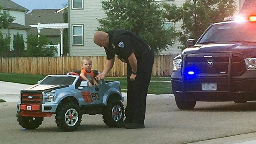 "Fort Collins Police Officer pulls over mini driver on account of ""reckless adorability."""