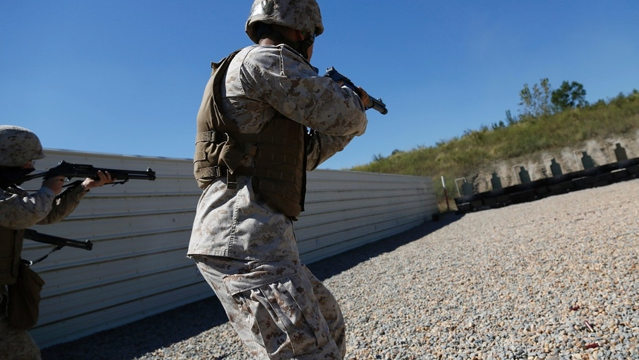 A Marine has been charged for sharing explicit images of female troops.