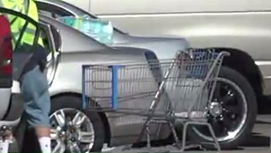A second razor blade was found hidden in the handlebar of a shopping cart at a Walmart in Missouri