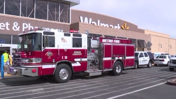 California walmart fire
