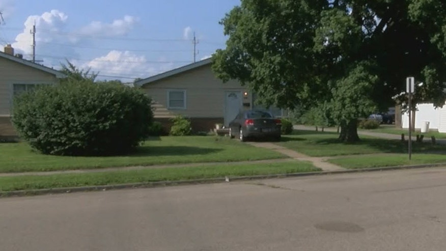 The incident happened in a Middletown, Ohio neighborhood.