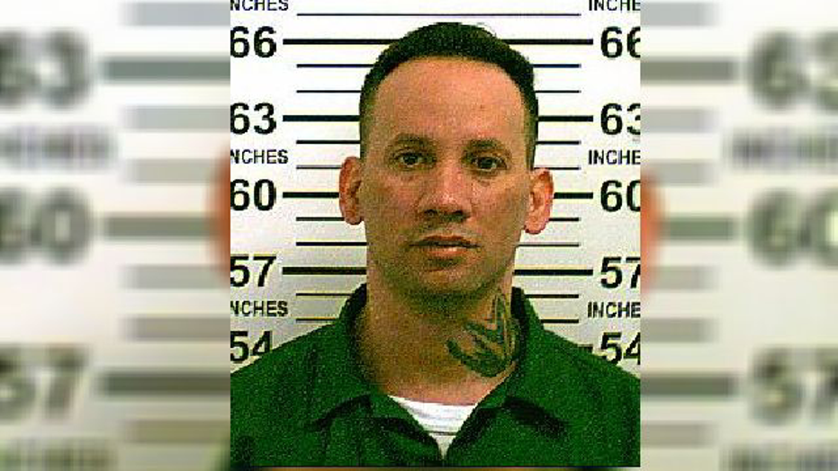 Hector Calo reportedly escaped police custody wearing only his underwear.