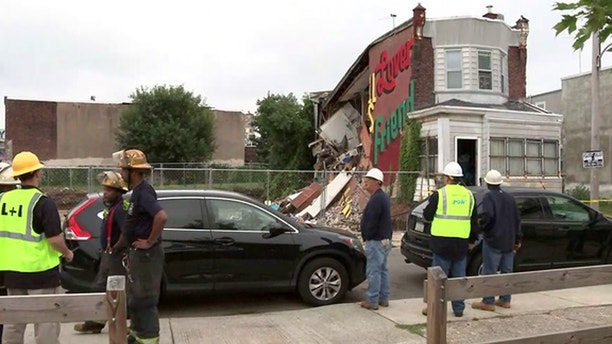Philly Home Collapse 2