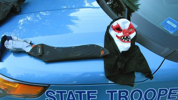 Machete-Wielding Man Dressed as Clown in Maine Arrested