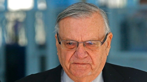 Arpaio announces Arizona Senate bid